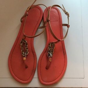Tory Burch Strappy Chain sandals 9.5B